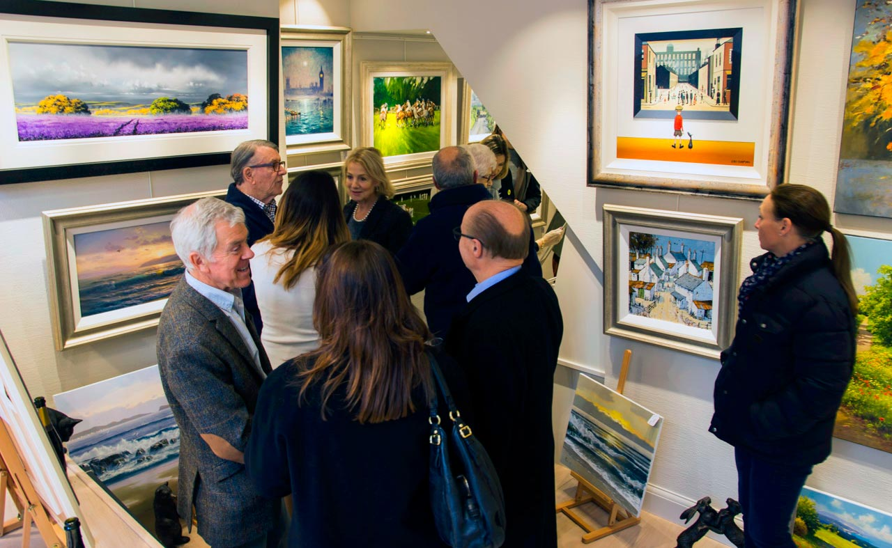 Forest Gallery Petworth opening exhibition