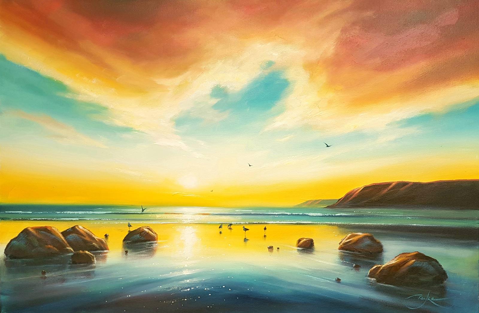 Forest gallery buy original art online for Buy original art online