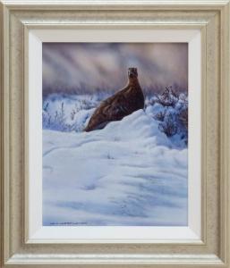 Wayne Westwood Grouse Painting