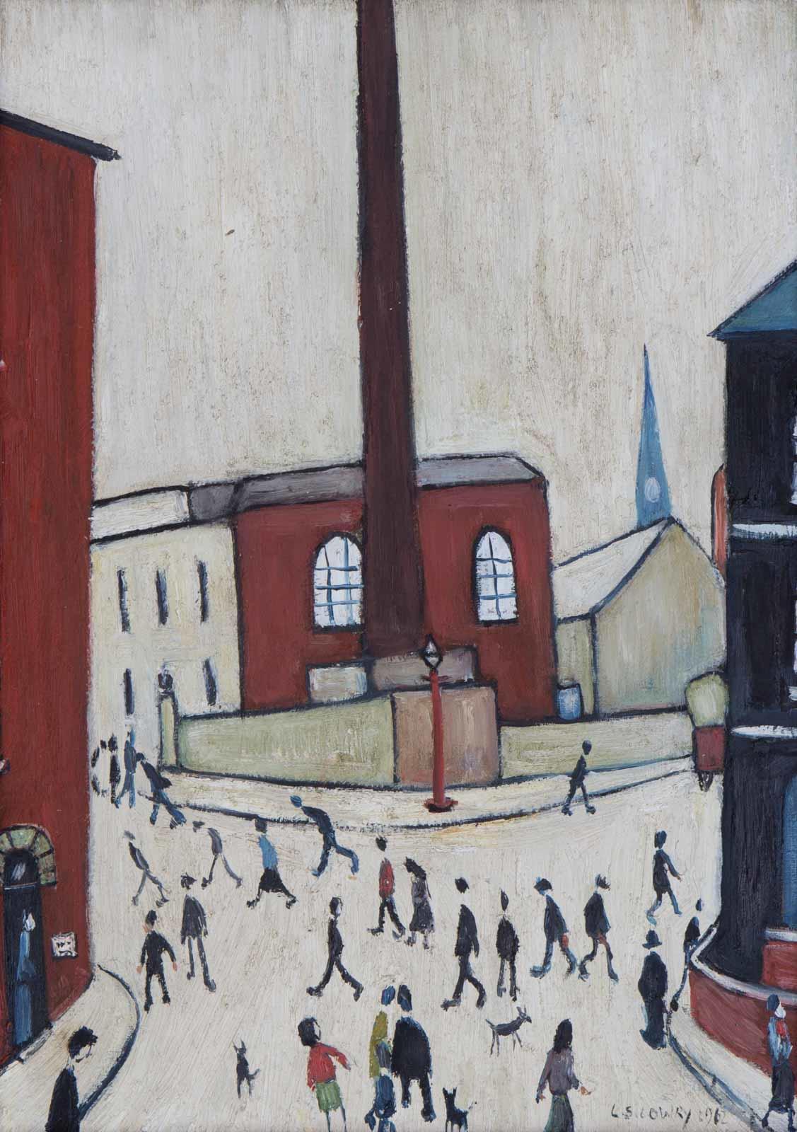 Lowry Street Scene