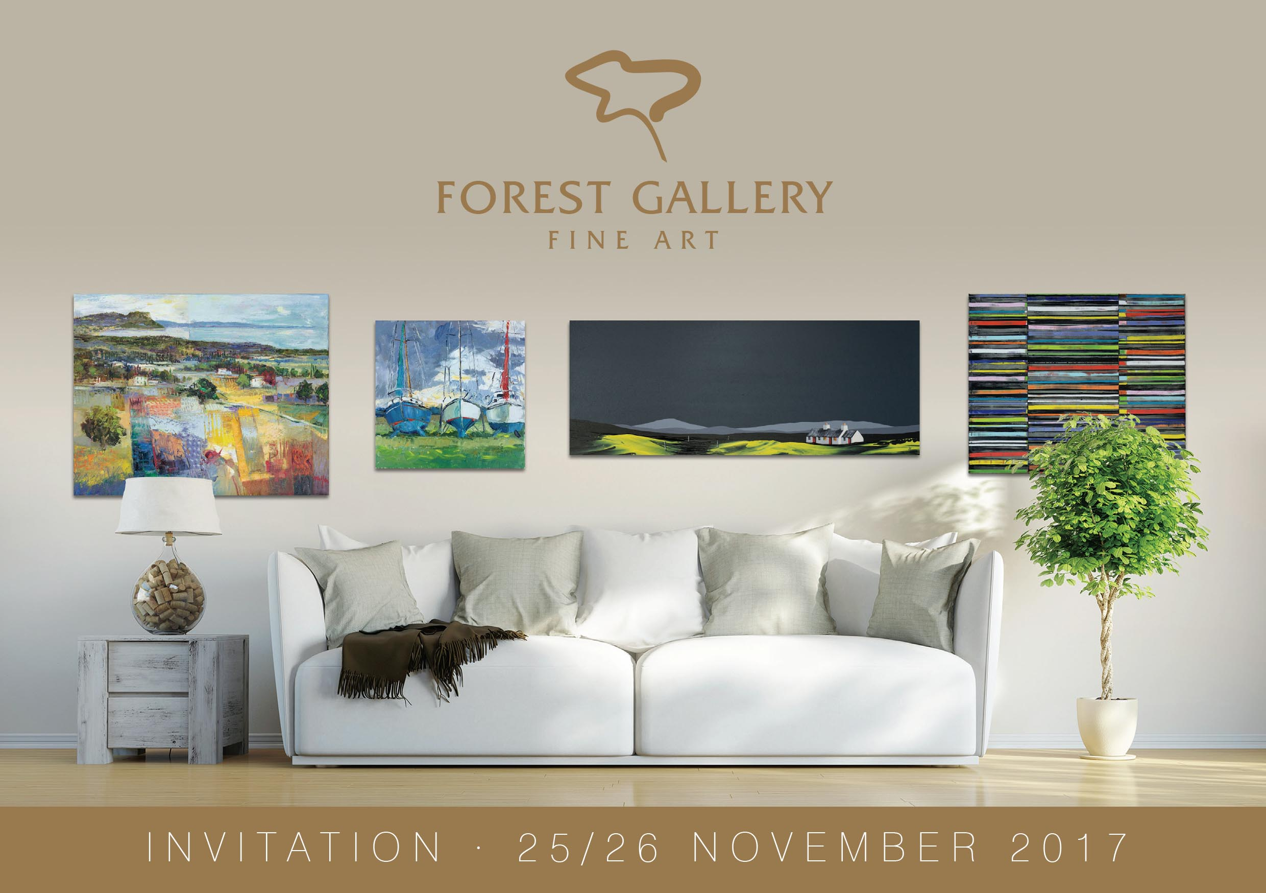 Forest Gallery Christmas Exhibition 2017