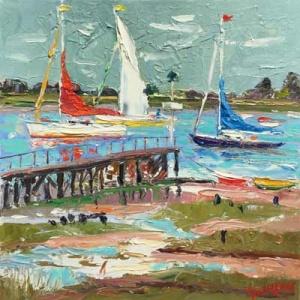 John Lawrence - Bosham shore