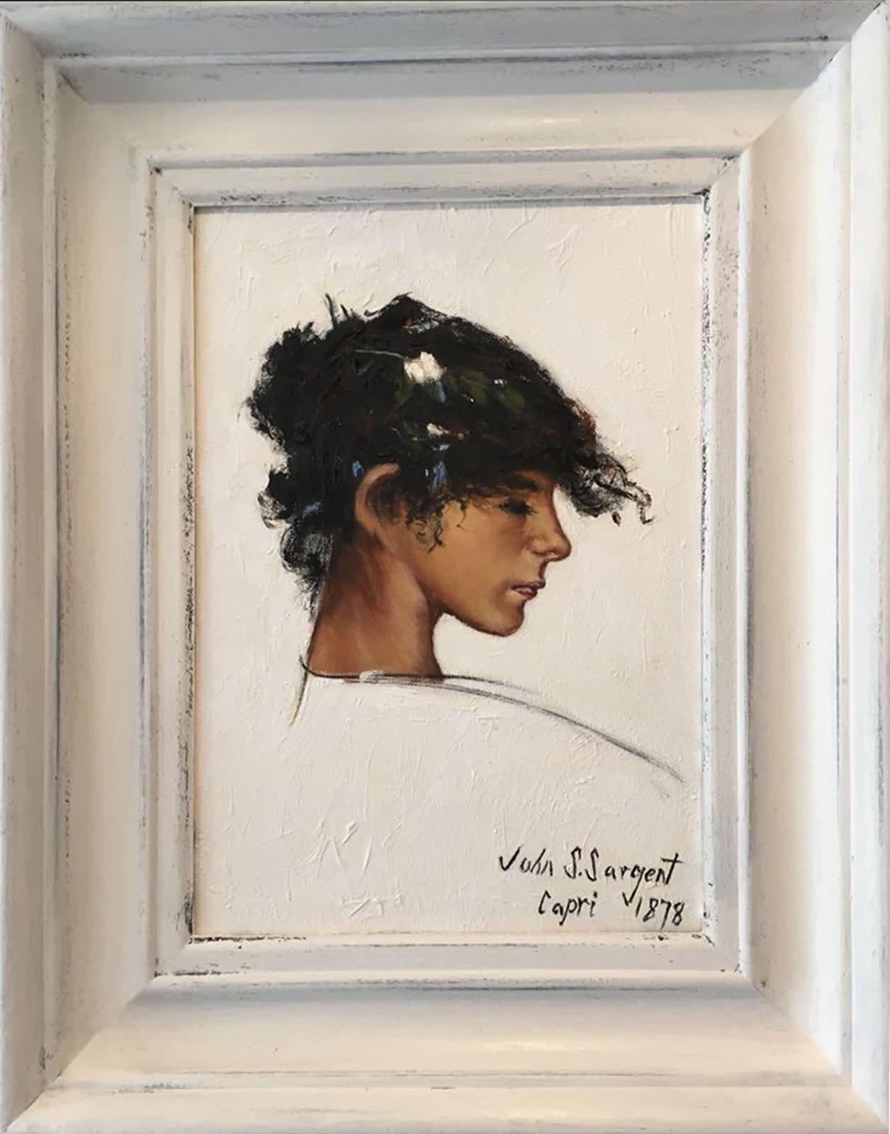 Capri Girl, 1878 after John Singer Sargent