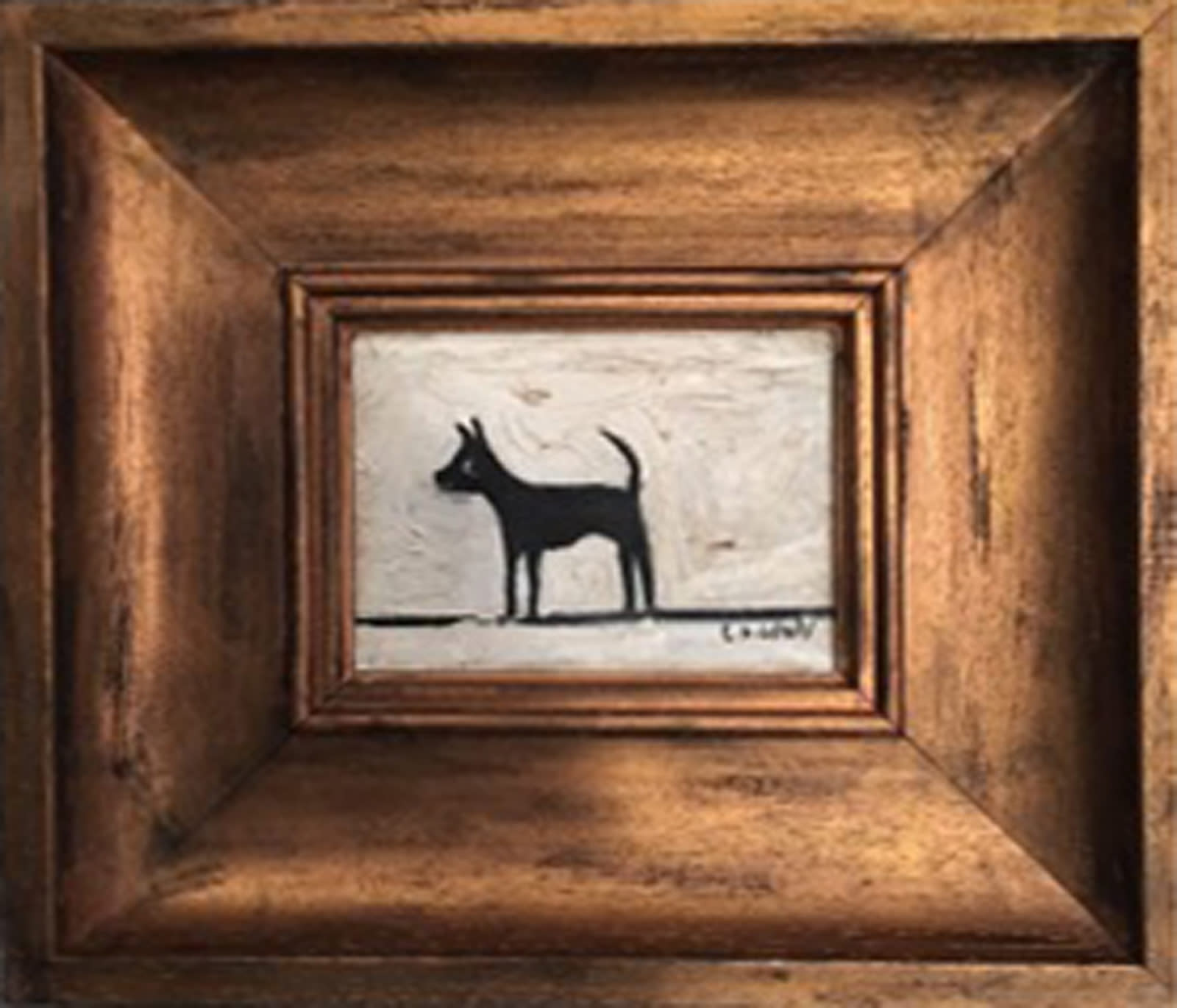 Dog after L.S. Lowry