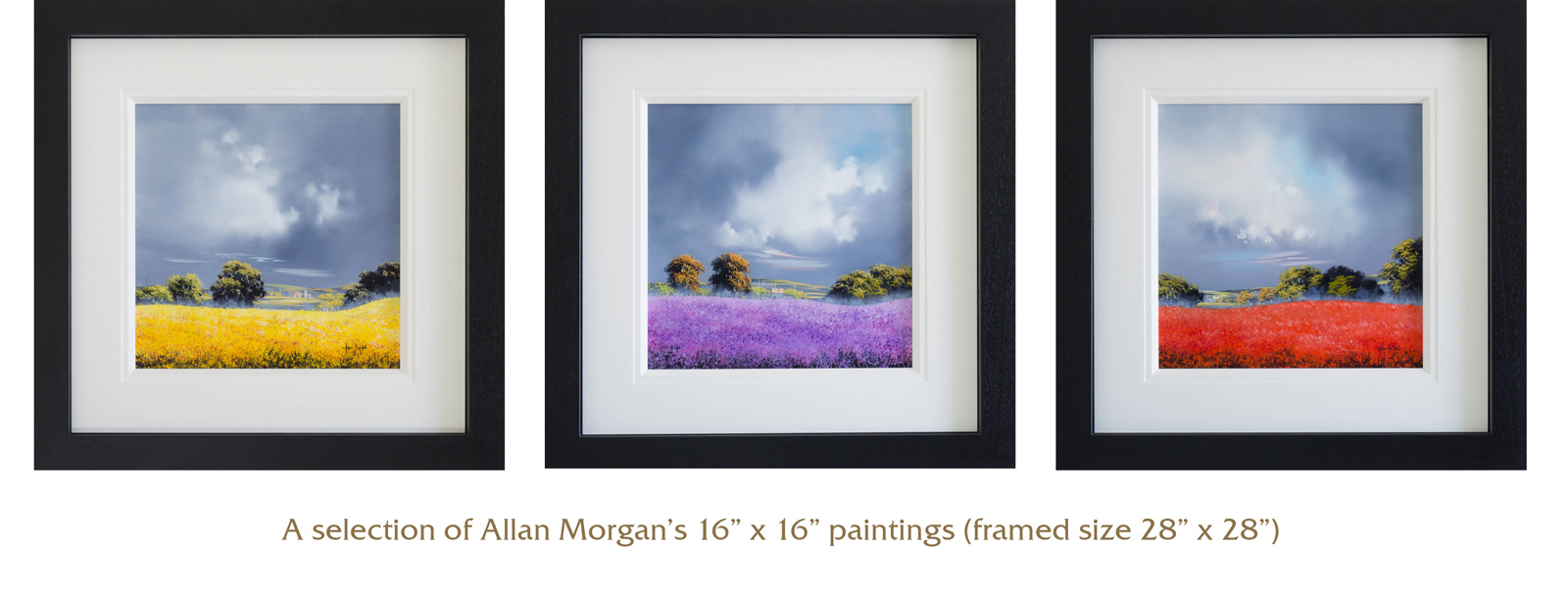 Allan Morgan Small Paintings