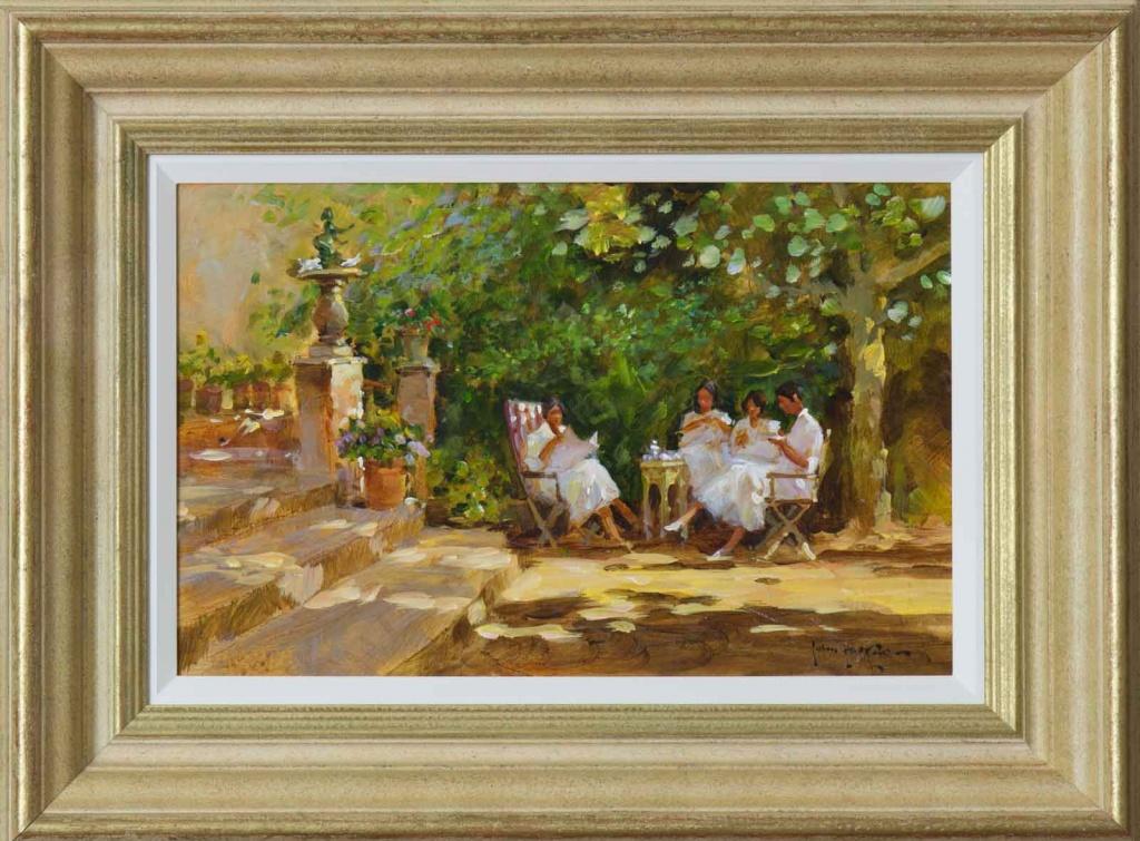 John Haskins Painting of Seville