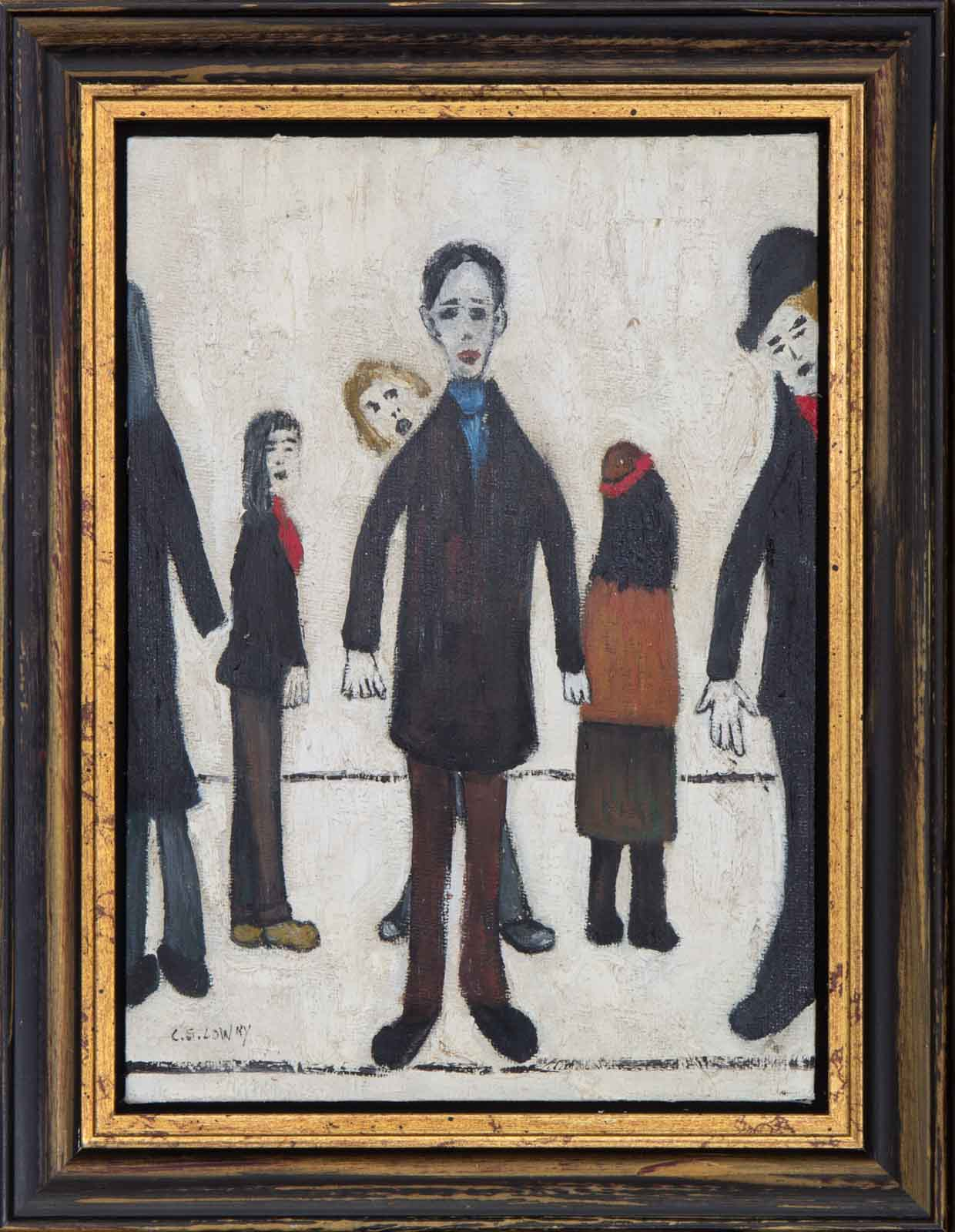 Crowd Scene after L.S Lowry