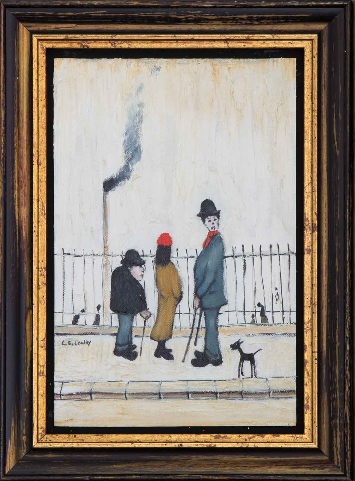 Bowler Hats after L.S Lowry, David Henty