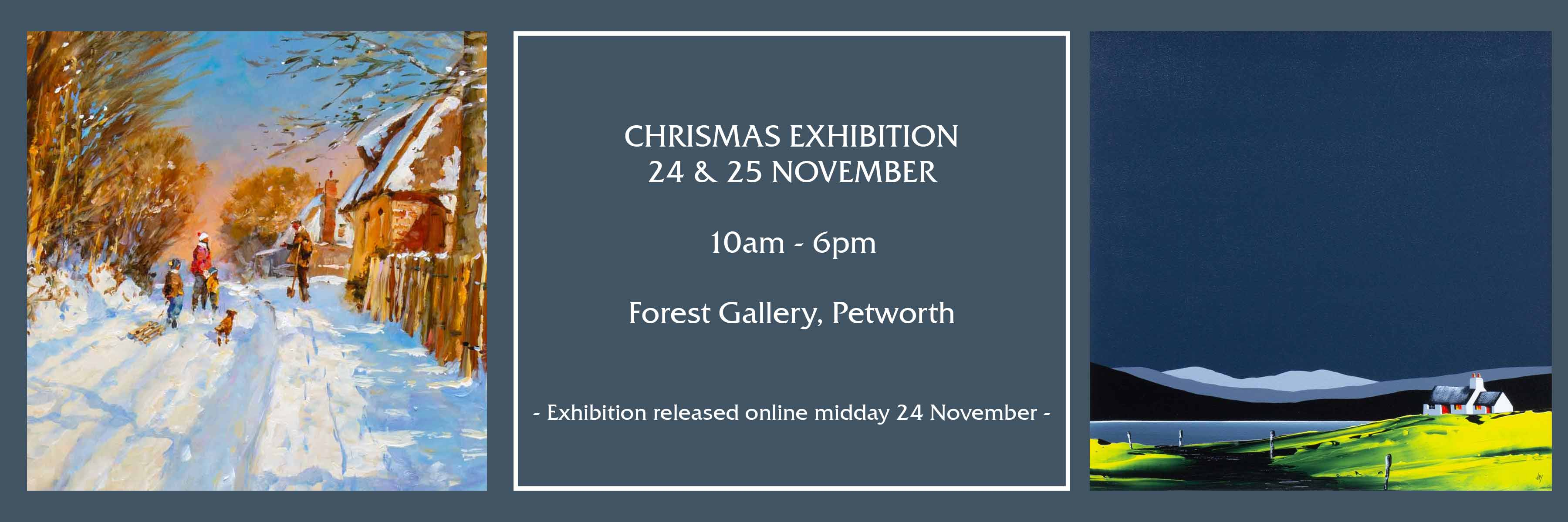 Christmas Exhibition Art Gallery