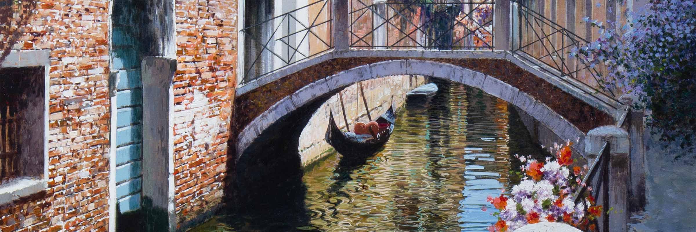 Raffaele Fiore painting of Venice