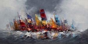Colourful Sails,