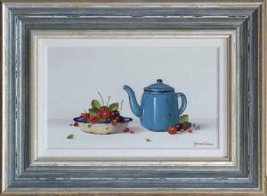 Blue Teapot,