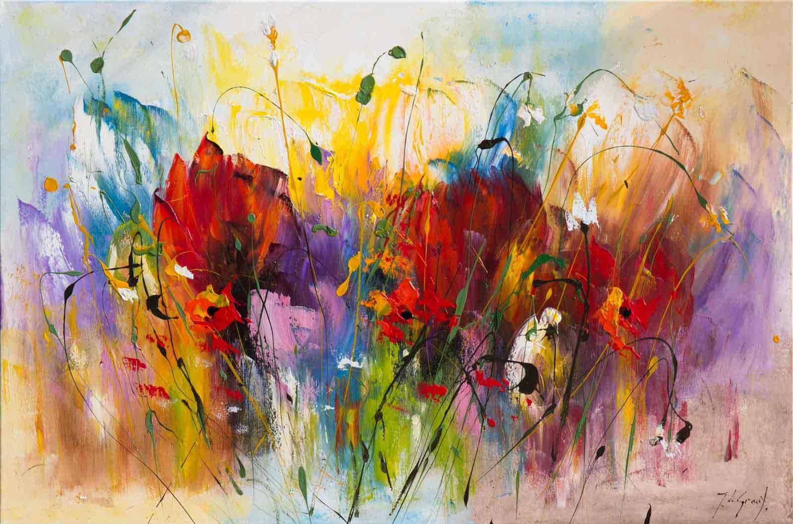 Floral Dance I