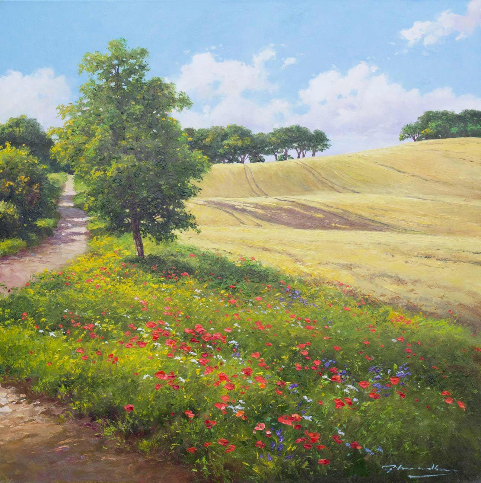 Countryside Walk, Gerhard Nesvadba