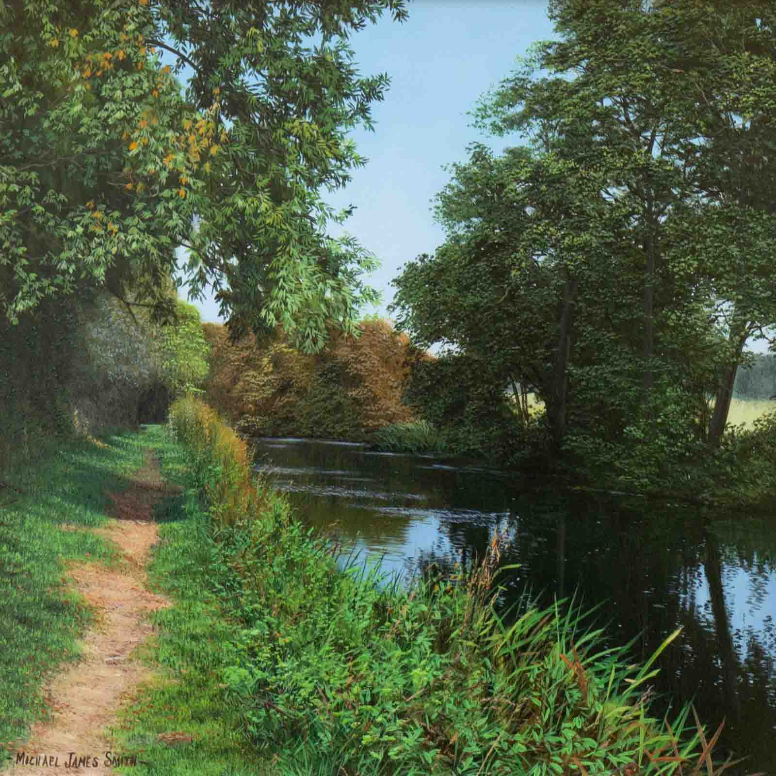 The River Chelmer, Michael James Smith
