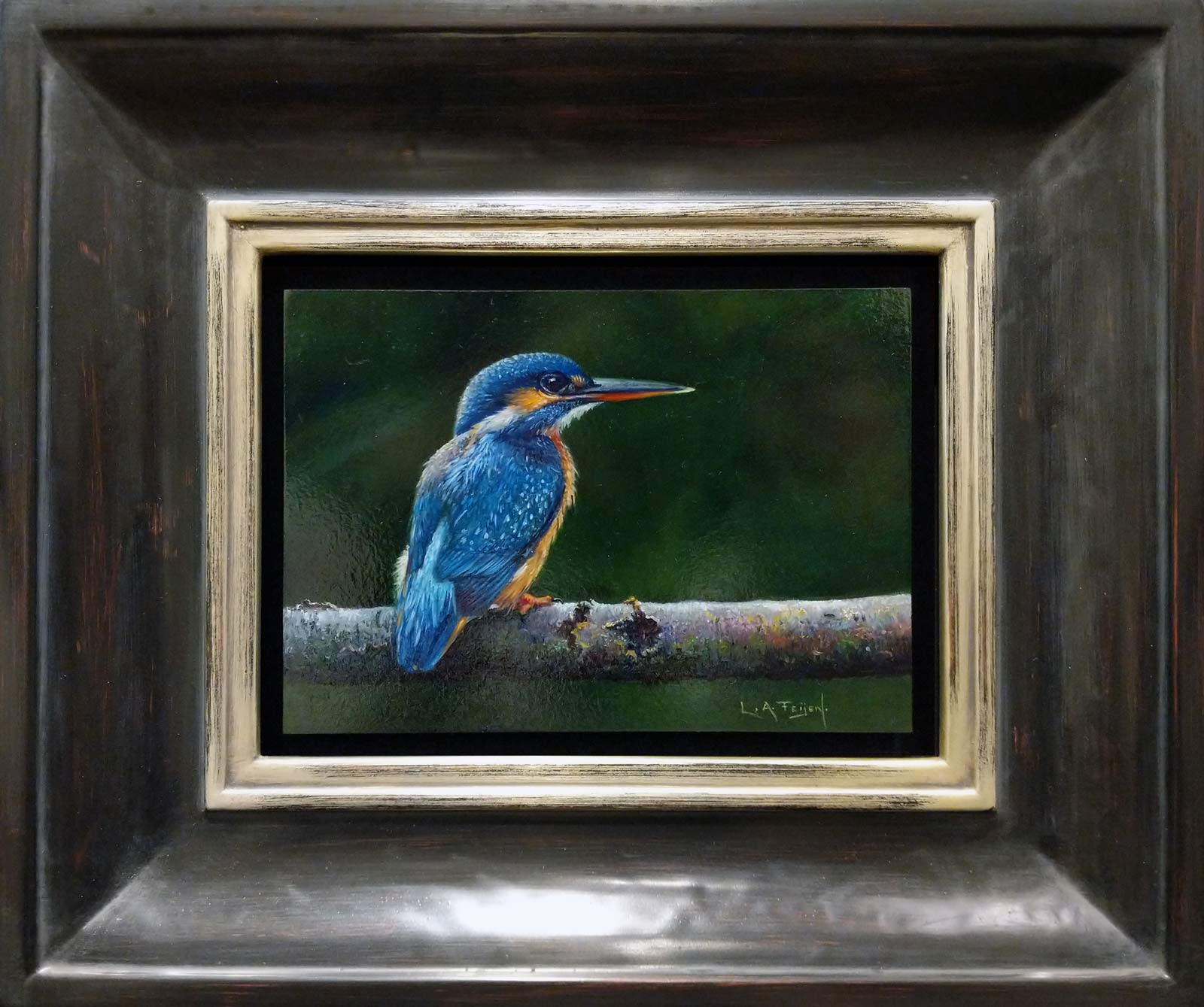The Kingfisher, Lion Feijen