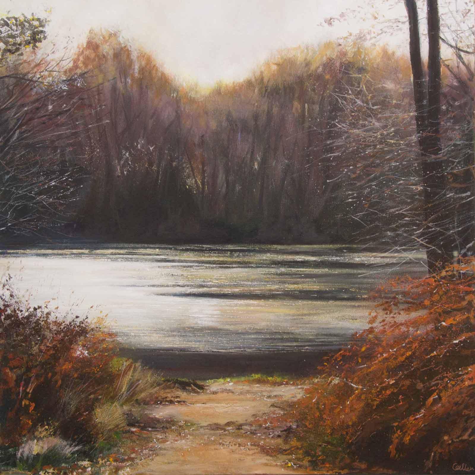 Autumn Lake, Cut Mill