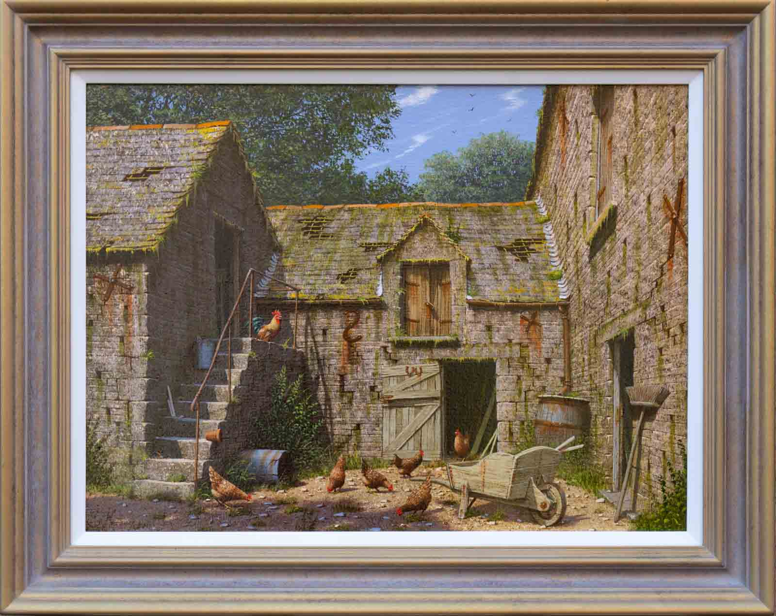 Amongst The Old Barns, Edward Hersey