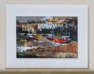 Fishing Boats, Polperro,