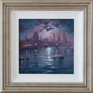 The Thames By Moonlight,