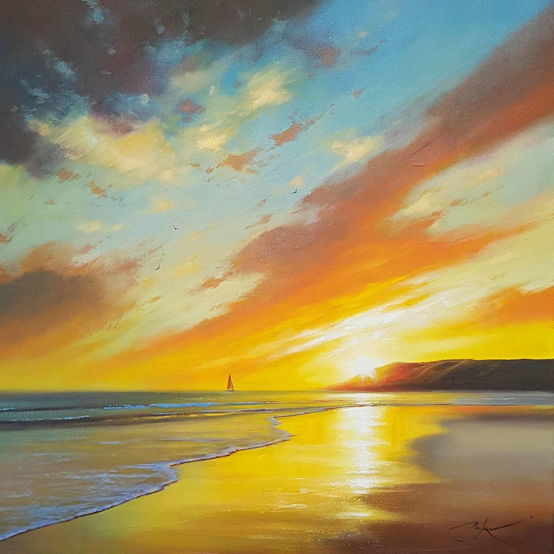 Evening Stroll, Ben Payne