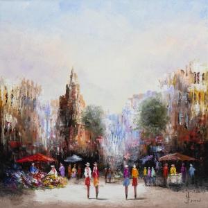 Flower Market,