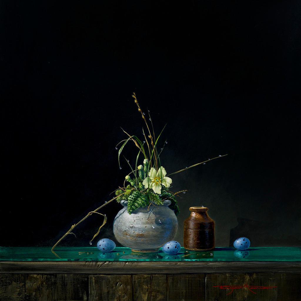 Primrose And Eggs