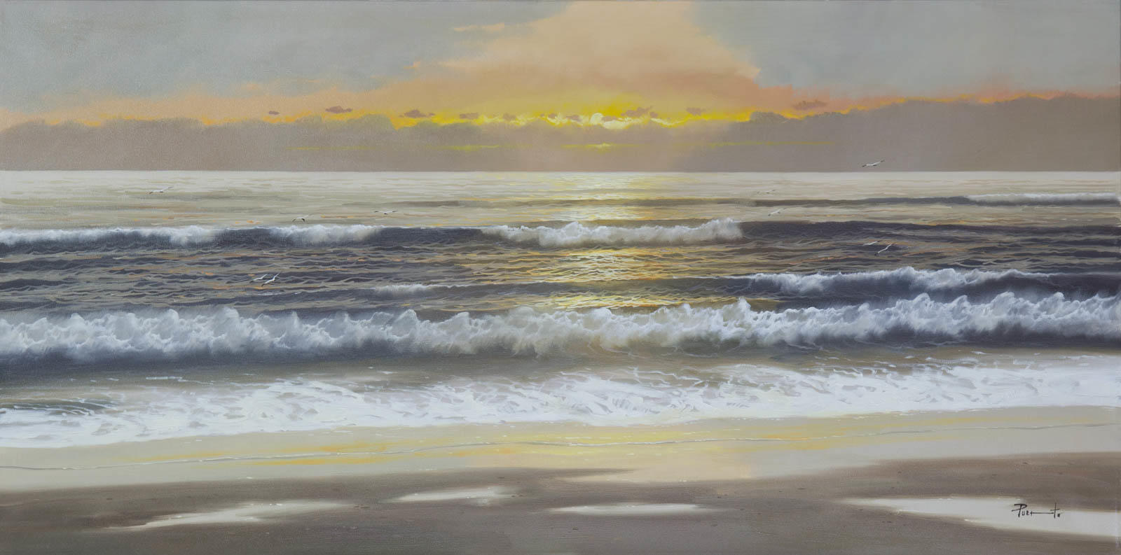 Peaceful Sea, Joan Puerto