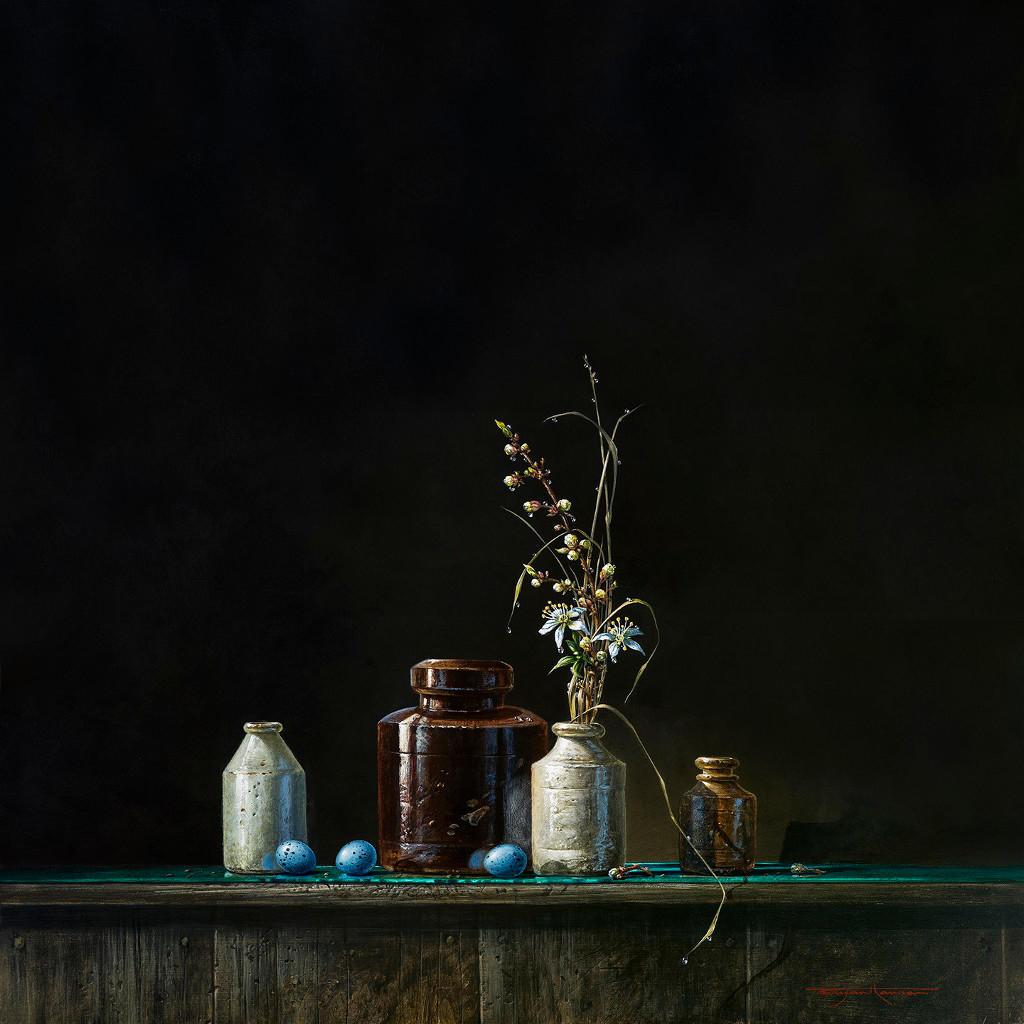 Four Pots And Eggs, Bryan Hanlon