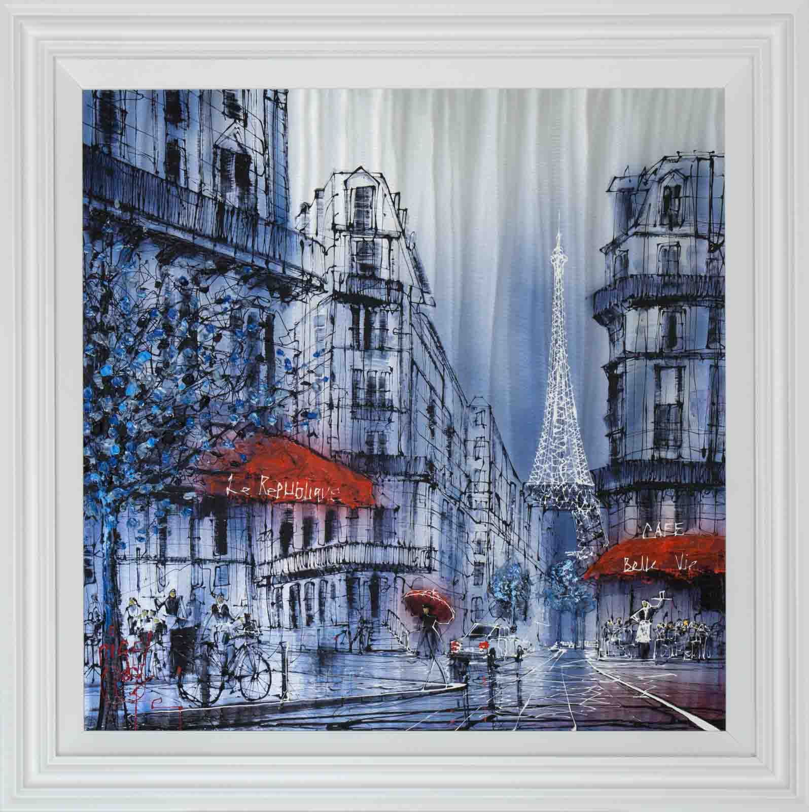 Reflections of Paris, Nigel Cooke