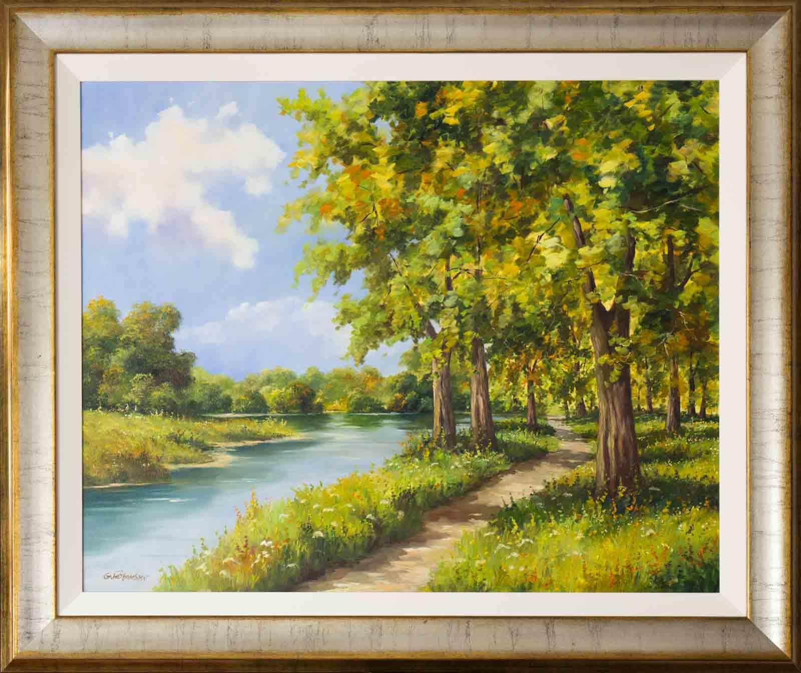 Riverside Walk, Gunther Fruhmesser
