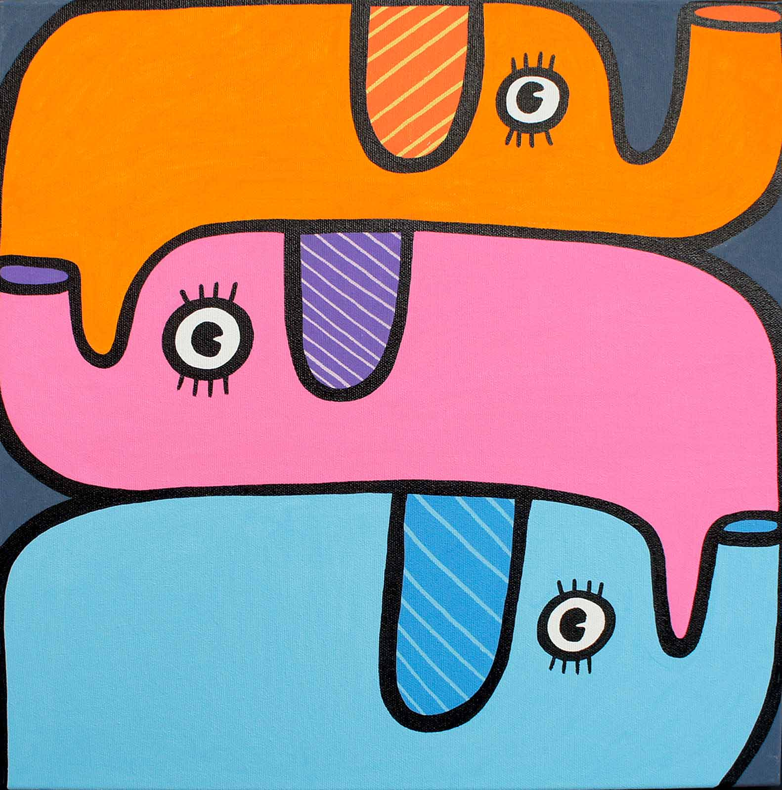 Three Elephants, Kev Munday