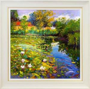 Waterlilies, Chiddingfold,
