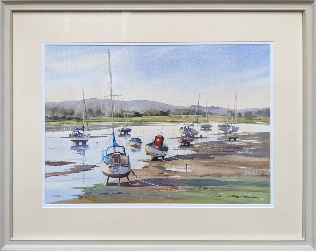 chichester harbour watercolour