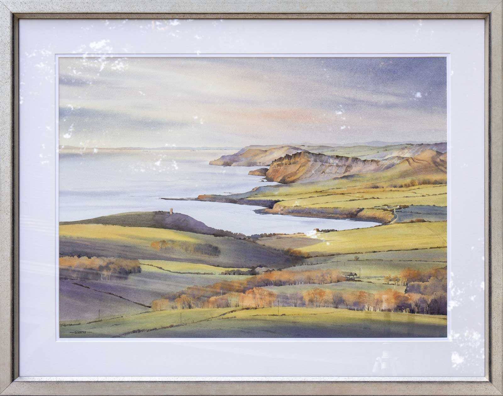November Light, Kimmeridge Bay, Oliver Pyle