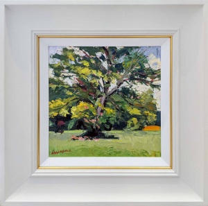 Oak Tree On the Turn, Alton,