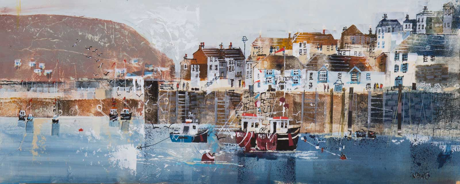 A Stroll Around The Harbour, Polperro