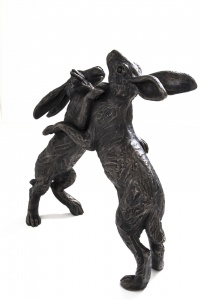 Small Boxing Hares,