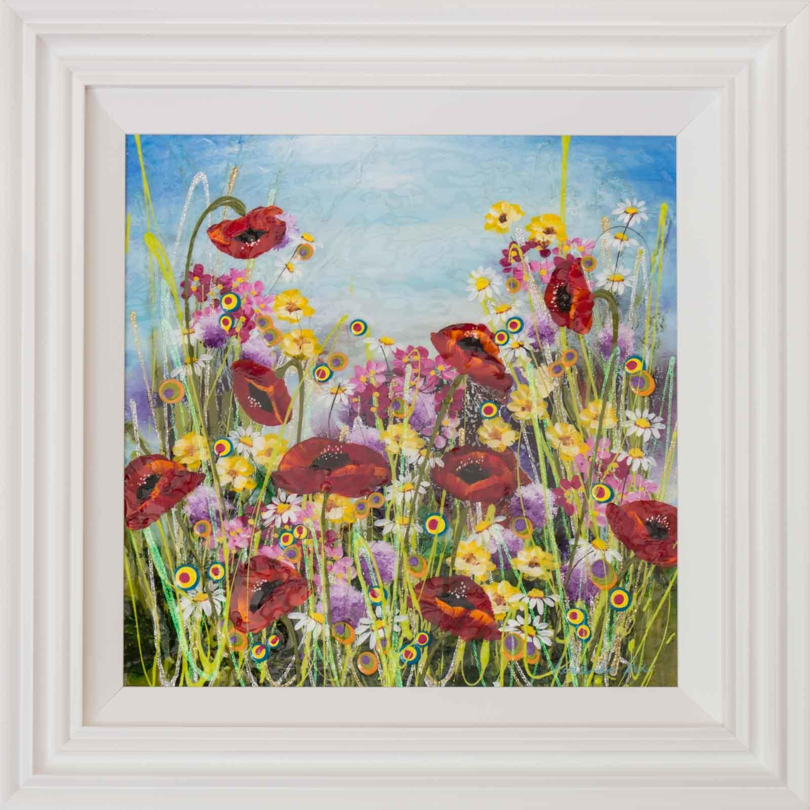 Poppy Meadow II, Rozanne Bell