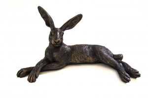 Small Reclining Hare,
