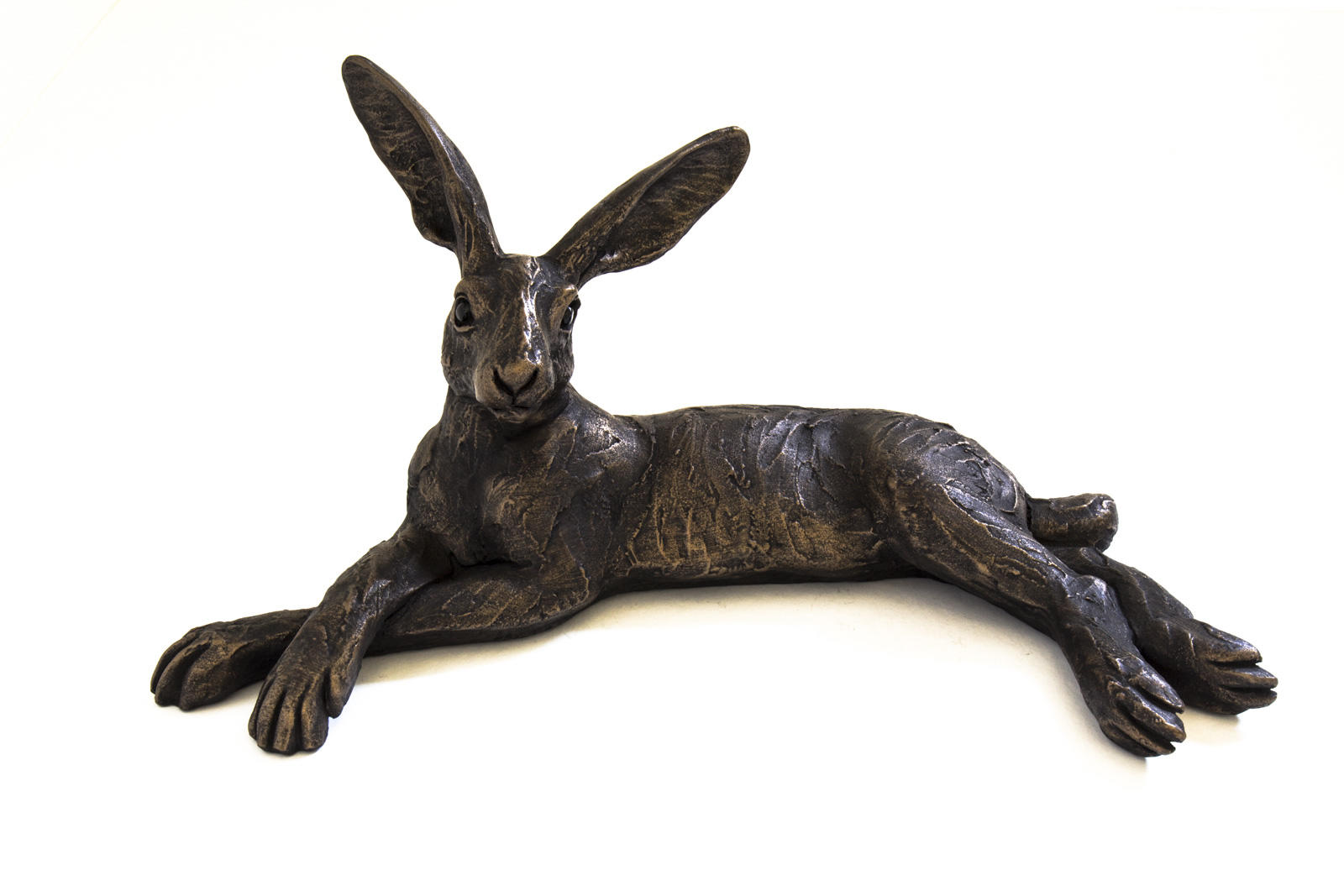 Small Reclining Hare, Suzie Marsh