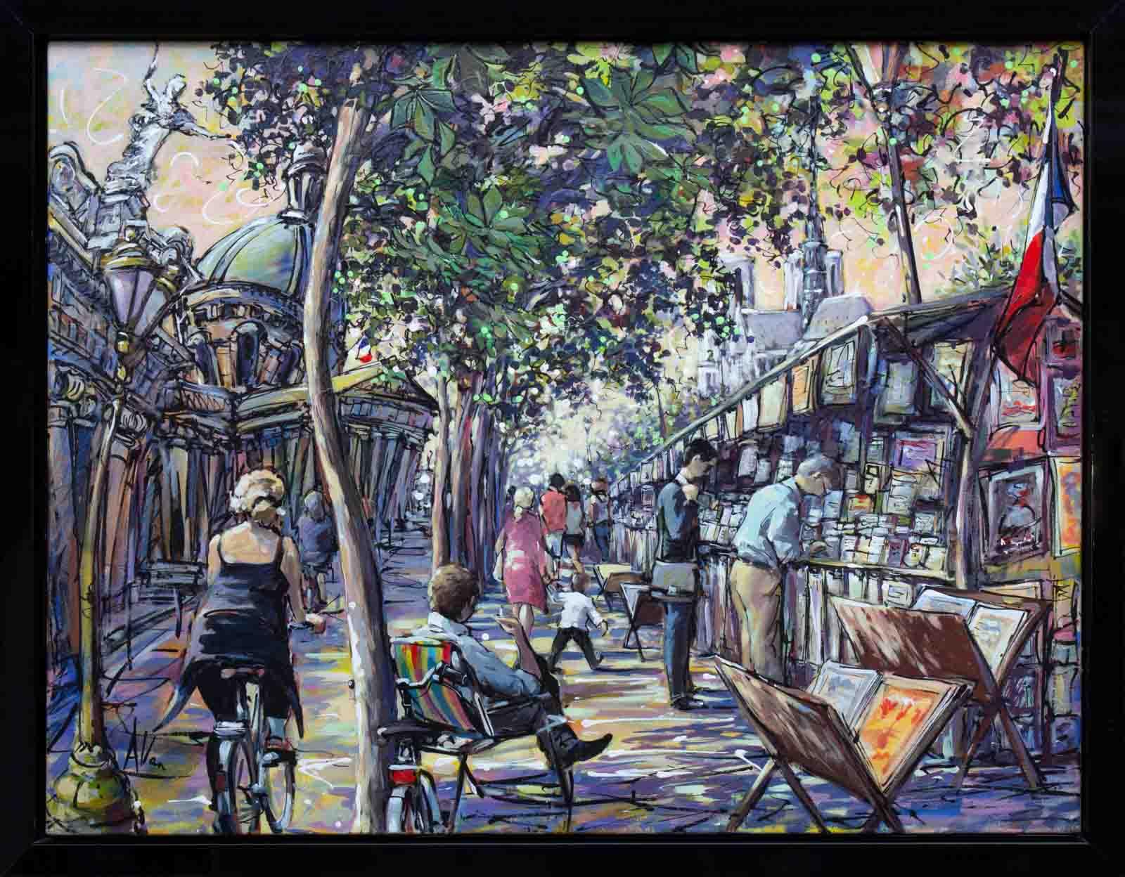 Rive Gauche Paris, Allan Stephens