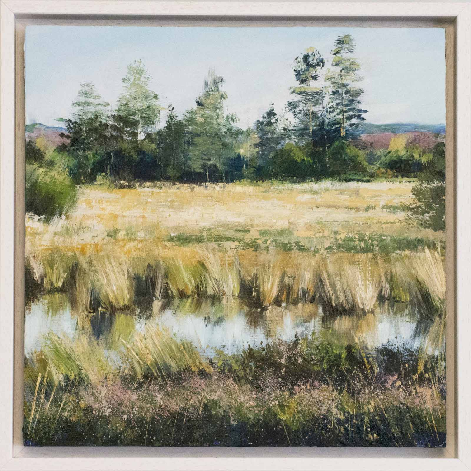 Golden Hour, Dragonfly Pond, Grace Ellen