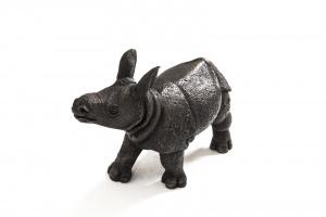 Asian Rhino Calf,
