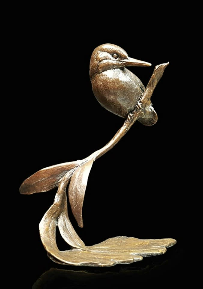 Kingfisher with Willow, Michael Simpson