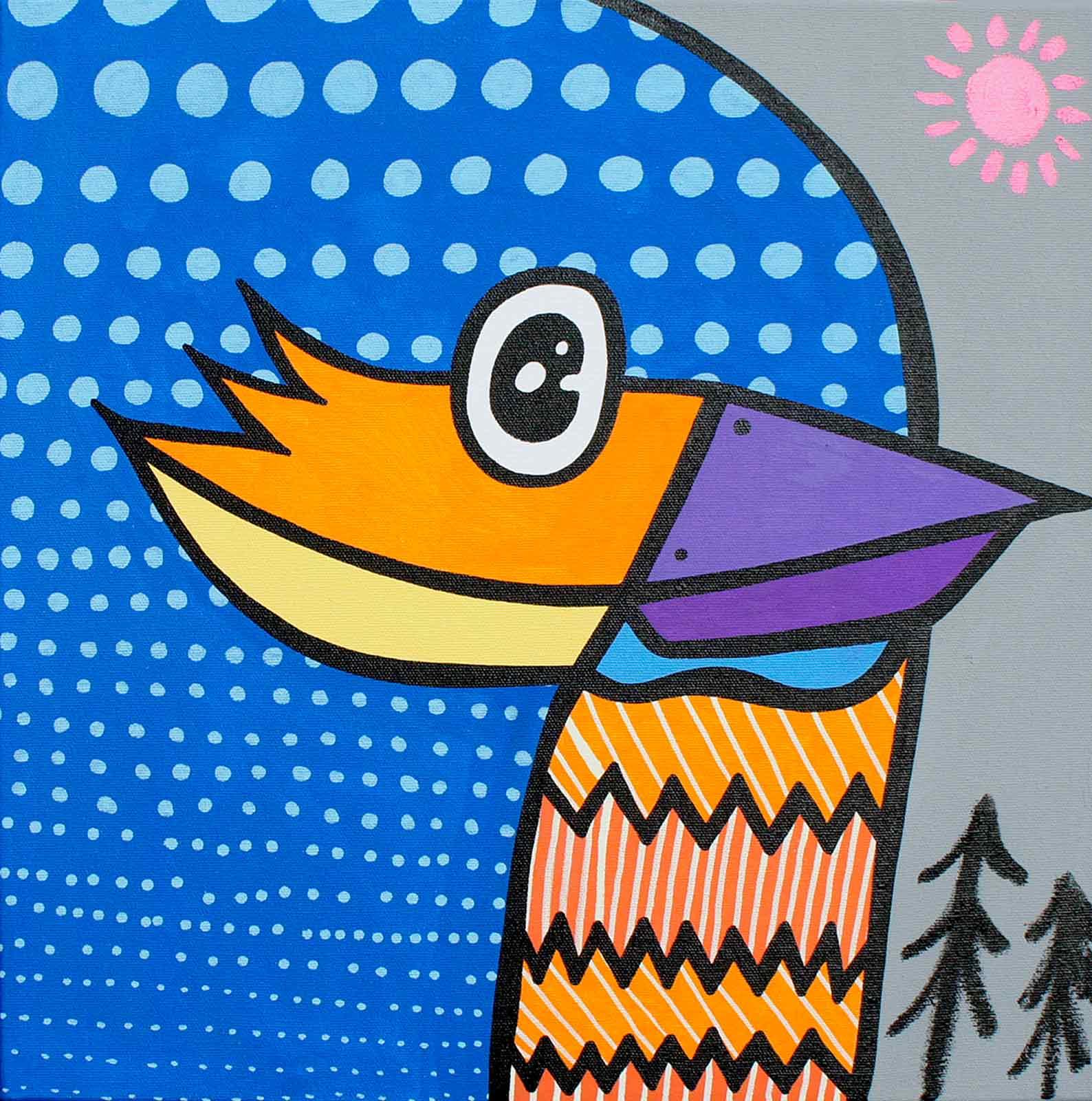The Kingfisher, Kev Munday