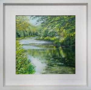 Dancing Light, River Wey,