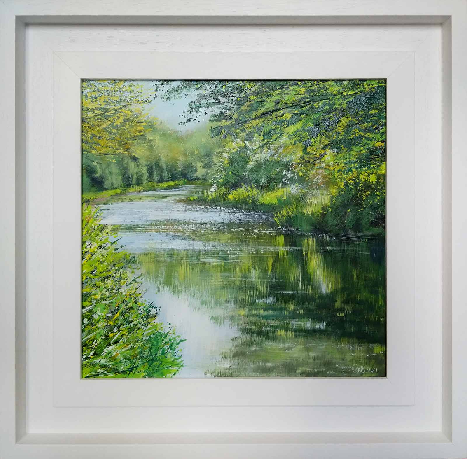 Dancing Light, River Wey, Grace Ellen