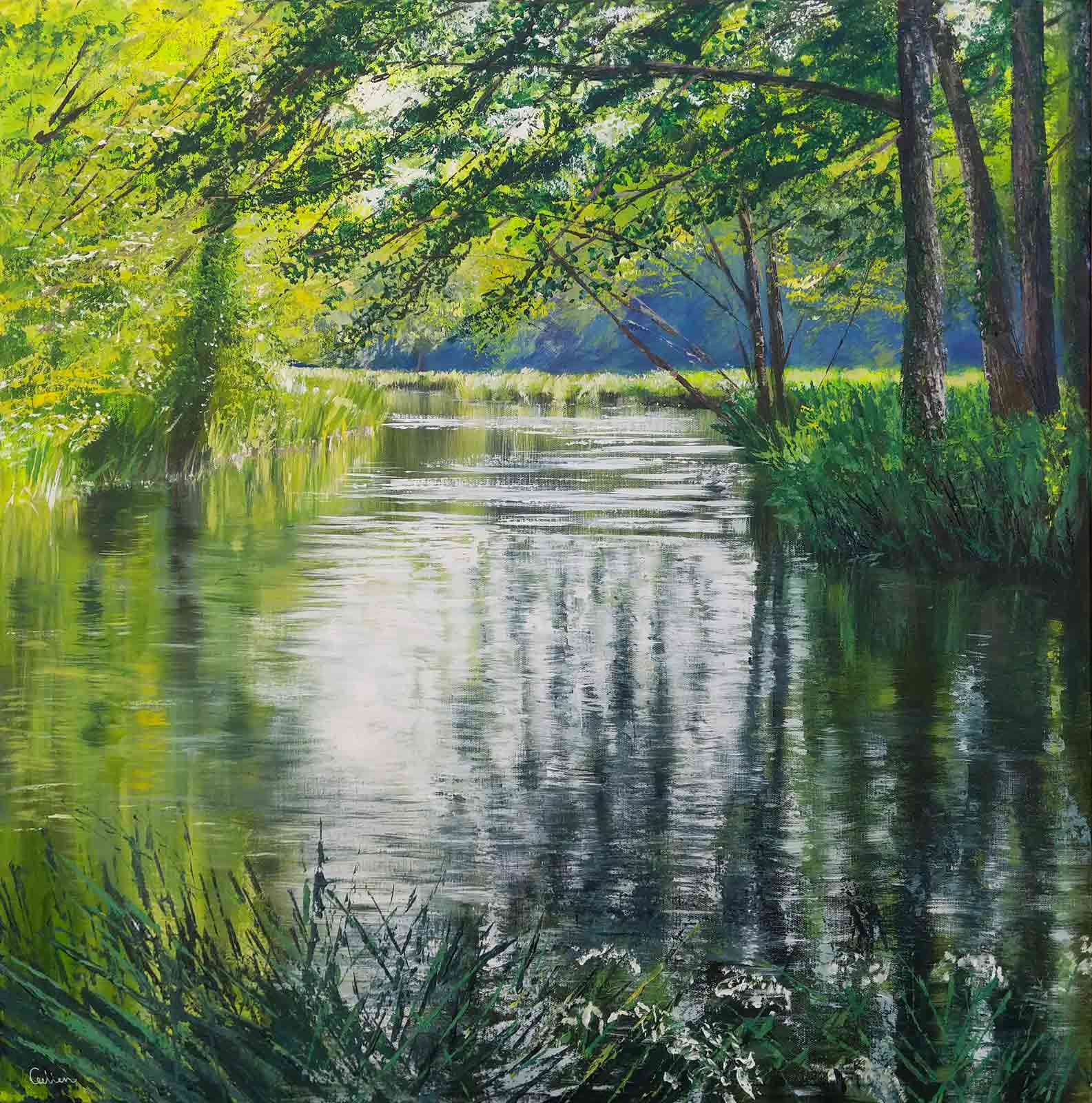 Light Streams, River Itchen, Grace Ellen