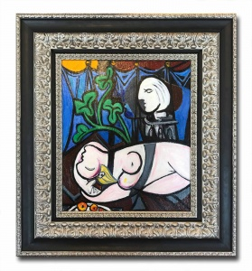 Green Leaves after Pablo Picasso,